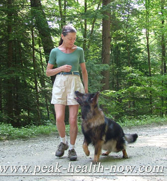 Heeling with full attention - Ena and Ellen